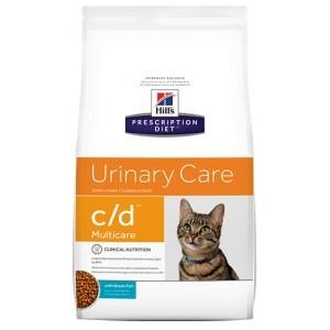 Hills Prescription Diet C/D Katzenfutter Kombi Huhn/Seefisch