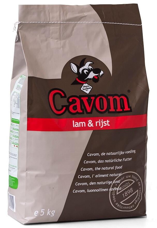 Cavom Compleet Lamm & Reis Hundefutter