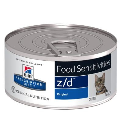 Hill's Prescription Z/D Food Sensitivities Katzen-Nassfutter 156 g