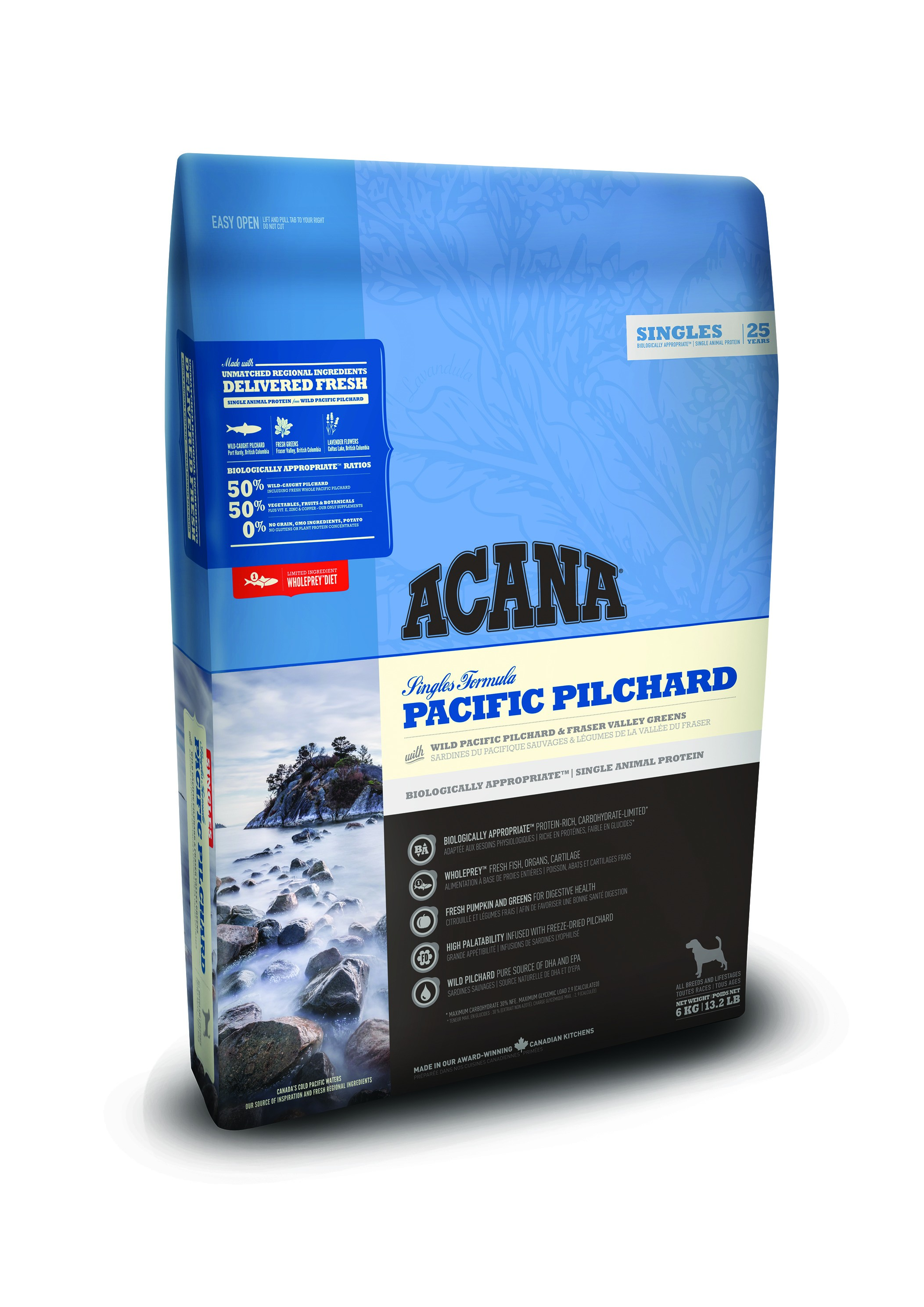 Acana Singles Pacific Pilchard Hundefutter