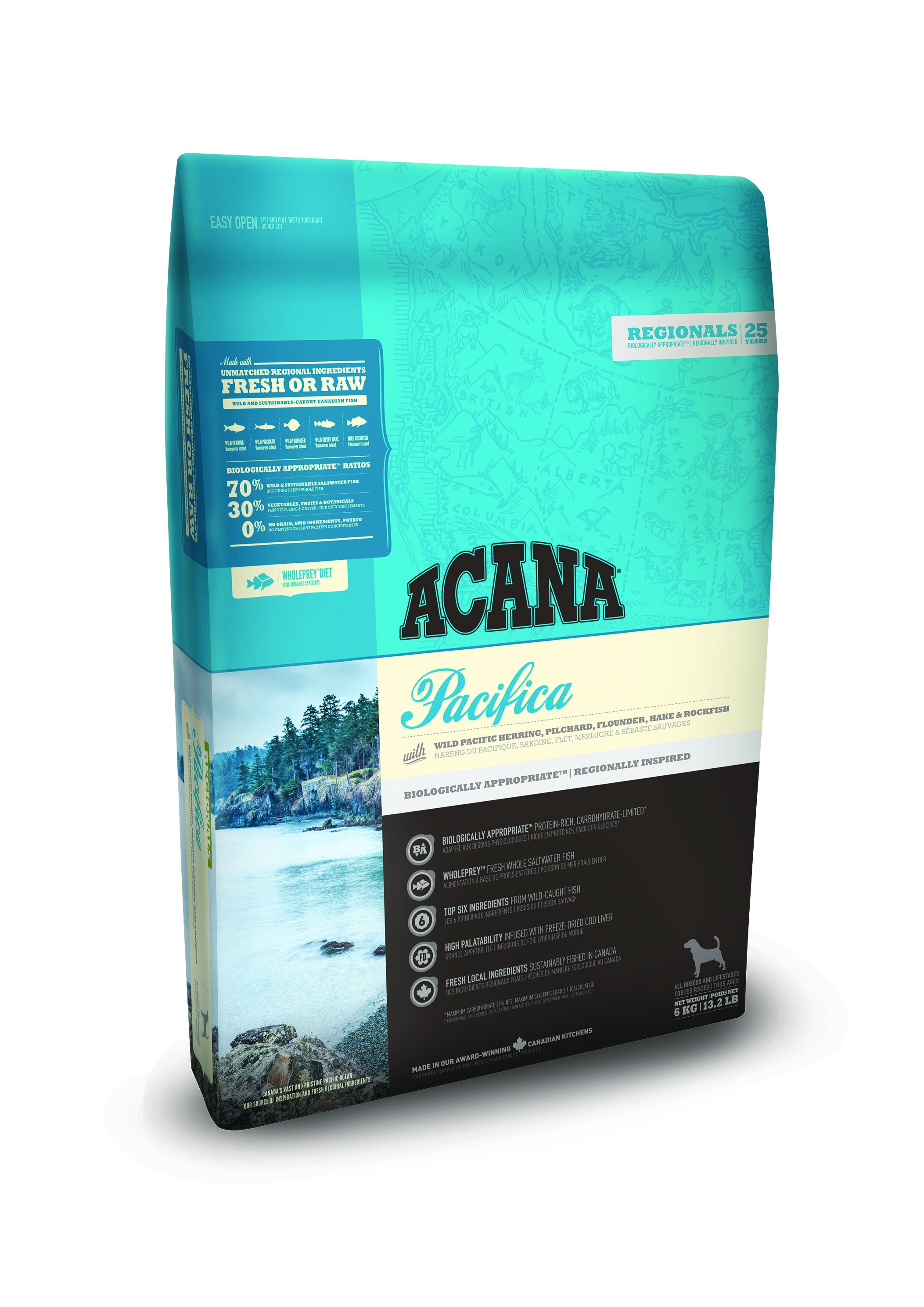 Acana Regionals Pacifica Hundefutter