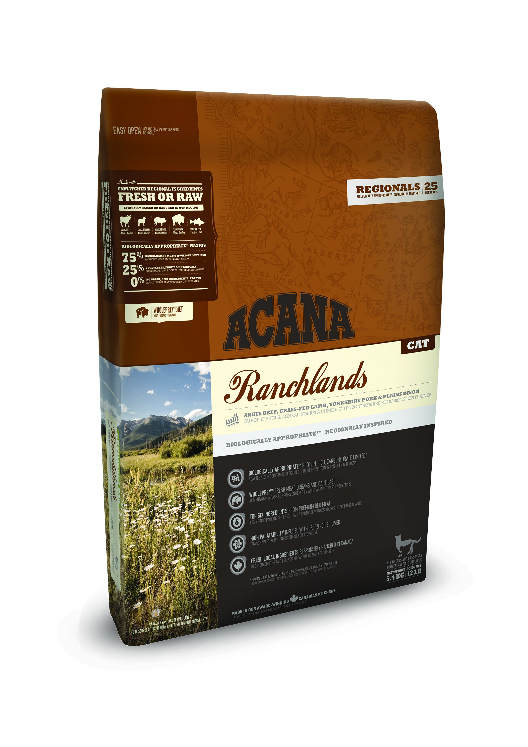 Acana Regionals Ranchlands Katzenfutter