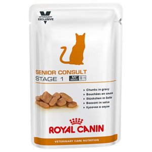 Royal Canin VCN Senior Consult Stage 1 Katzen-Nassfutter