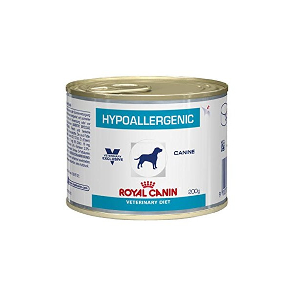 royal canin veterinary diet hypoallergenic in dosen hundefutter 200g. Black Bedroom Furniture Sets. Home Design Ideas