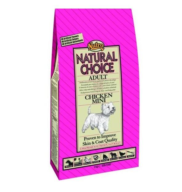 Nutro Choice Adult Mini Maintenance Huhn Hundefutter