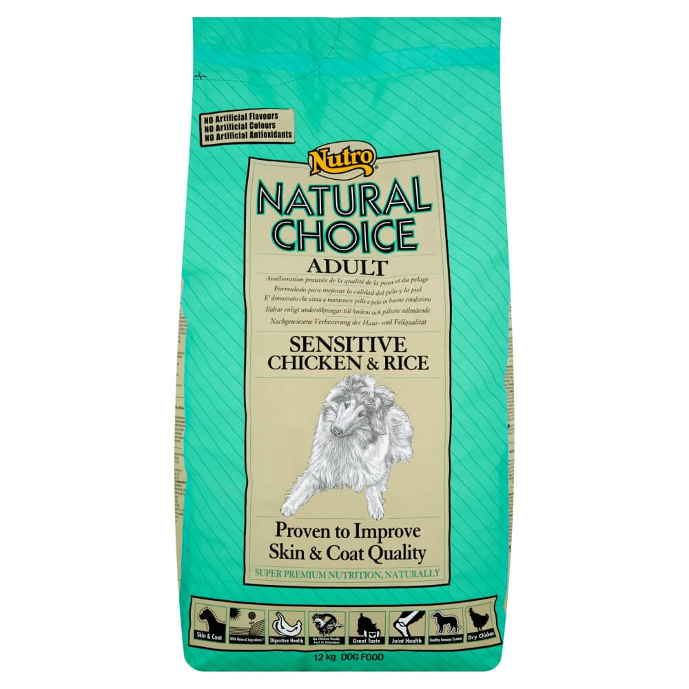 Nutro Choice Adult Sensitive Huhn & Reis Hundefutter