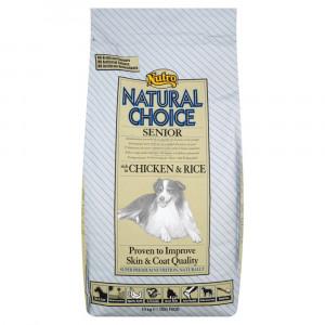 Nutro Choice Senior Huhn & Reis Hundefutter