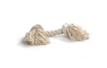 Baumwoll-Tau weiß 27 cm für Hunde