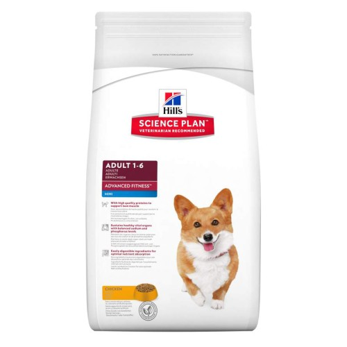 Hill's Adult Advanced Fitness Mini Huhn Hundefutter