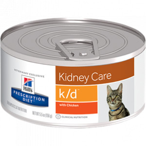 Hill's Prescription Diet k/d Huhn Katzenfutter in Dosen