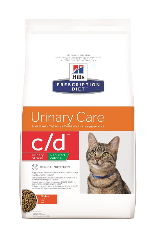 Hill's Prescription Diet C/D Urinary Stress Reduced Calorie Katzenfutter