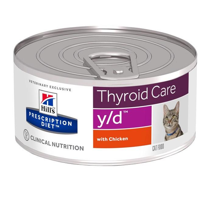 Hill's Prescription Y/D Thyroid Care Katzen-Nassfutter