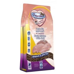 Renske Super Premium Senior Huhn & Ente Katzenfutter