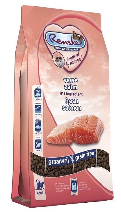 Renske Super Premium Adult Lachs Katzenfutter