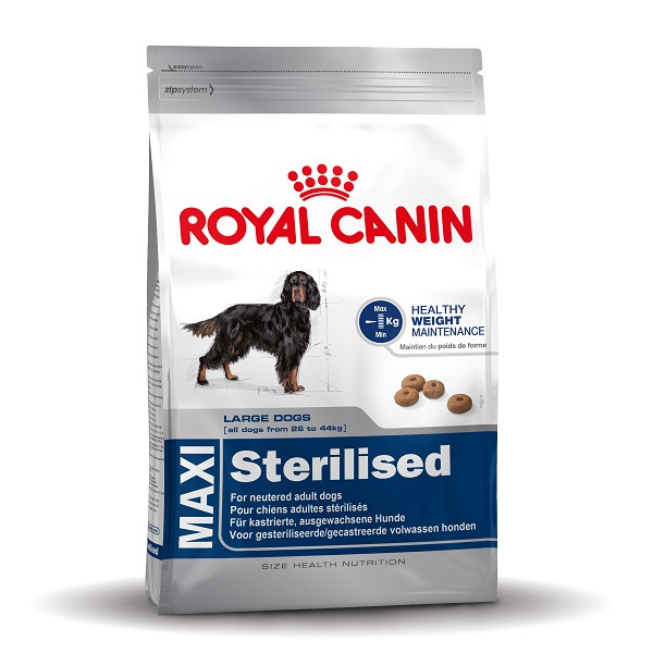 royal canin maxi sterilised hundefutter online. Black Bedroom Furniture Sets. Home Design Ideas