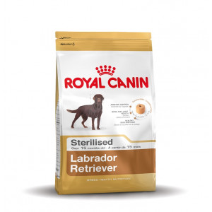 royal canin sterilised adult labrador retriever 30 hundefutter. Black Bedroom Furniture Sets. Home Design Ideas