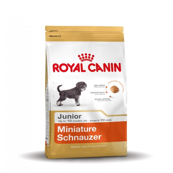 royal canin junior miniature schnauzer hundefutter. Black Bedroom Furniture Sets. Home Design Ideas