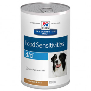Hill's Prescription Diet D/D Lamm & Reis Dosen Hundefutter