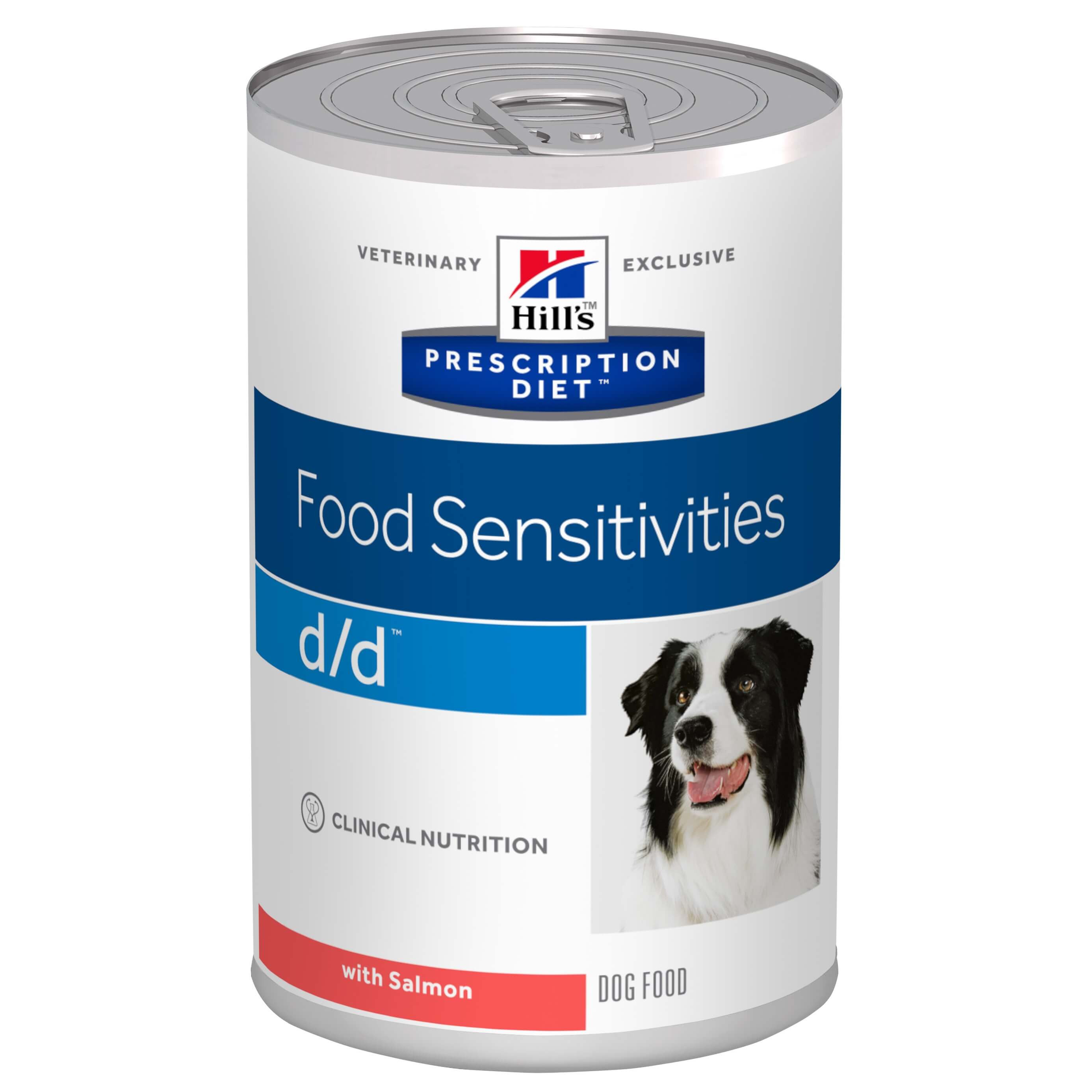 Hill's Prescription Diet D/D Lachs Hundefutter in Dosen
