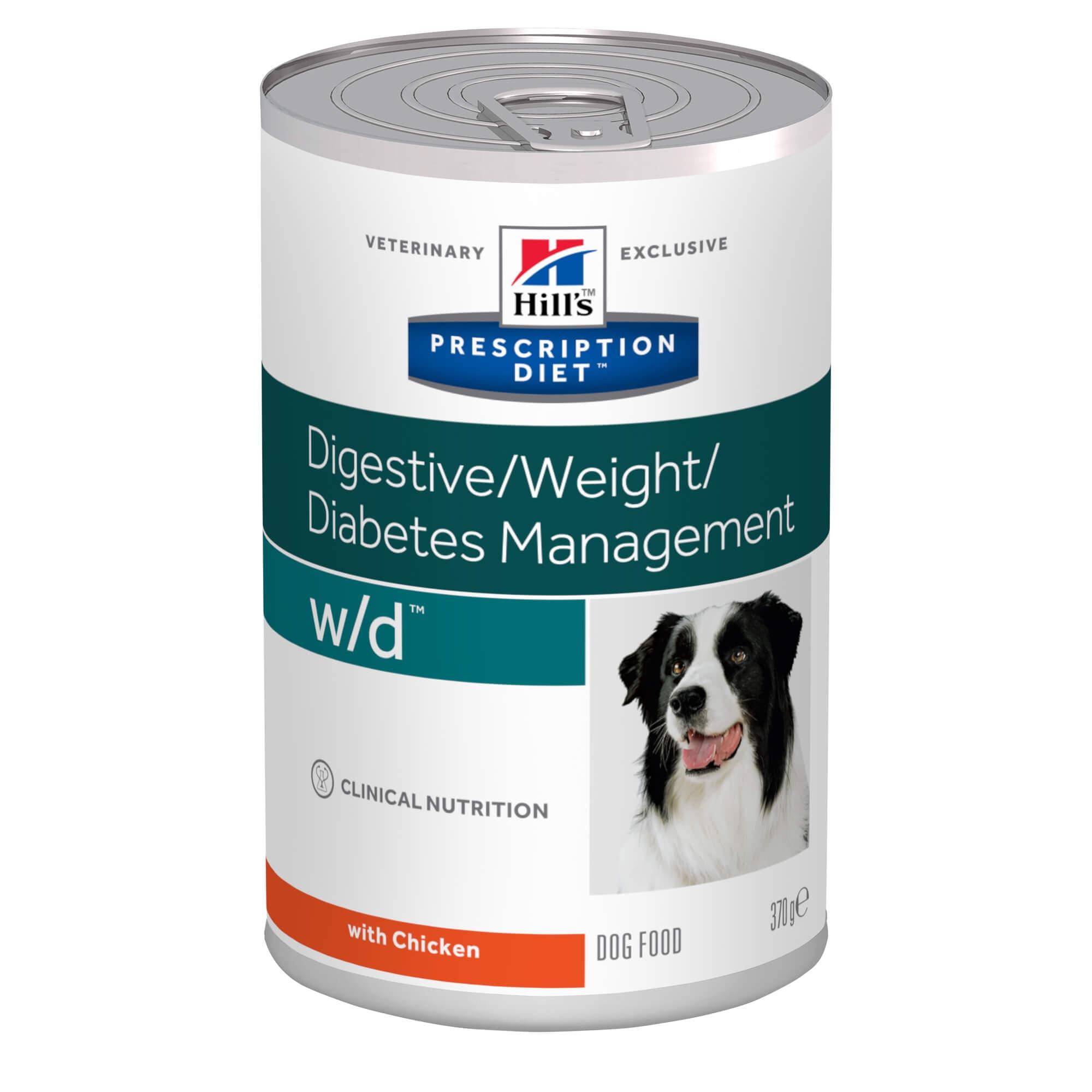 Hill's Prescription W/D Digestive/ Weight/Diabetes Hunde-Nassfutter