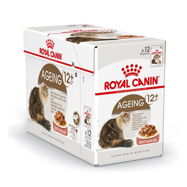 royal canin pouch ageing 12 katzenfutter. Black Bedroom Furniture Sets. Home Design Ideas
