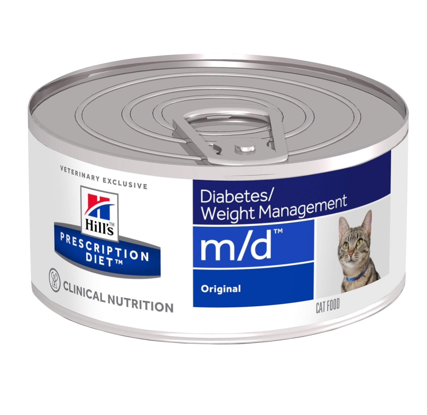 Hill's Prescription M/D Diabetes/Weight Management Katzen-Nassfutter