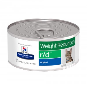 Hill's Prescription R/D Weight Reduction Katzenfutter Dosen 156g