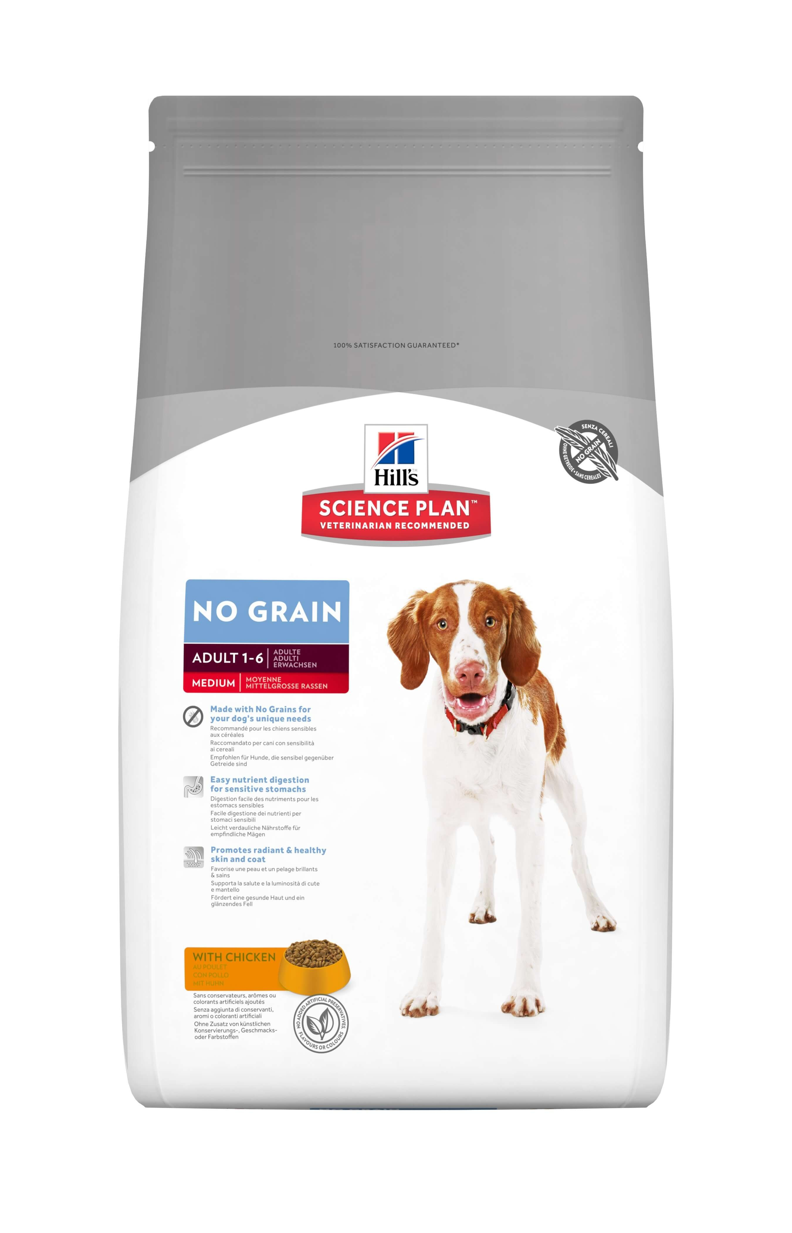 Hill's Adult No Grain mit Huhn Hundefutter