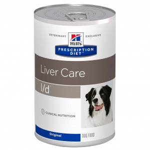 Hill's Prescription L/D (l/d) Liver Care Dosen Hundefutter