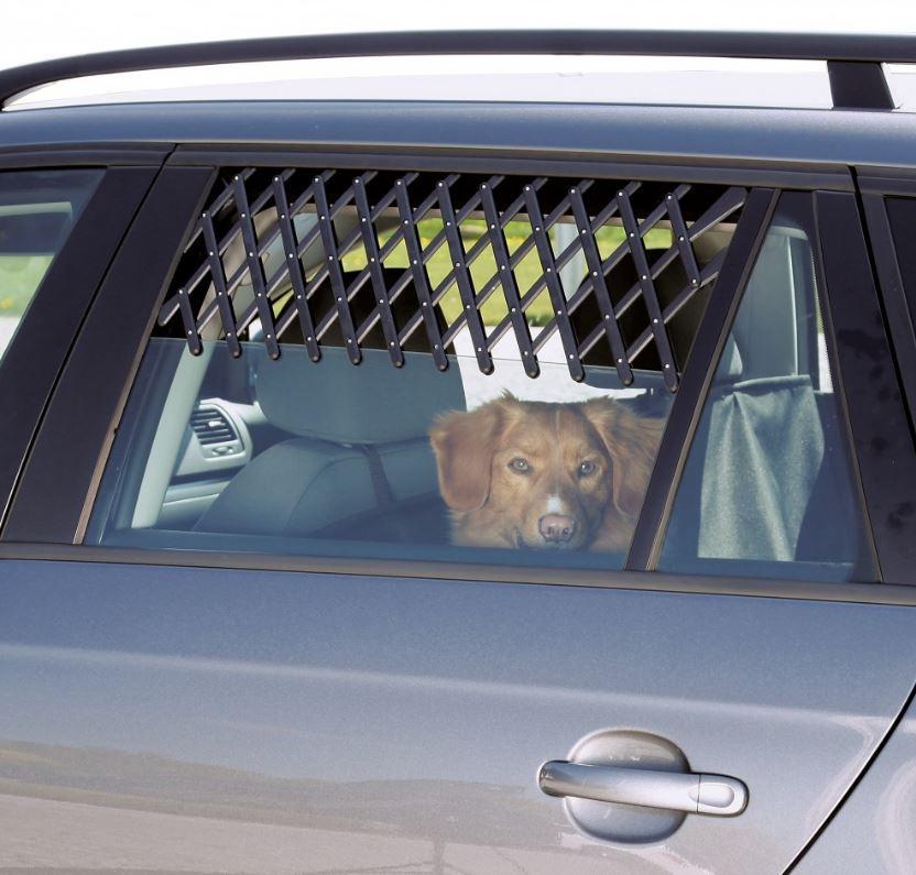 Lüftungsgitter für Fensterrahmen im Auto