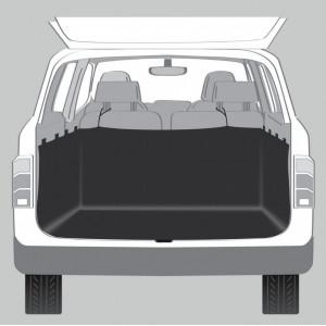 Trixie Kofferraumdecke mit Seitenwänden