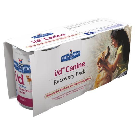 Hill's Prescription Diet I/D Recovery Pack Hund (3 x 360 g)