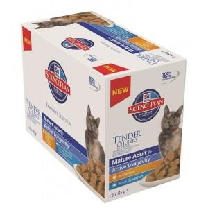 Hill's Mature/Senior Pouch Favourite Selection Katzenfutter