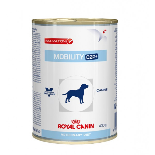 royal canin veterinary diet mobility c2p hundefutter dosen 400g. Black Bedroom Furniture Sets. Home Design Ideas