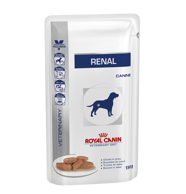 Royal Canin Veterinary Diet Renal Pouch Hundefutter 150g