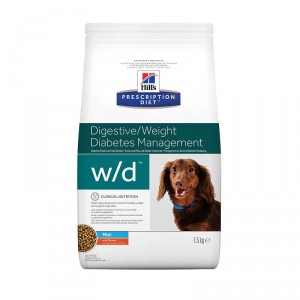Hill's Prescription Diet w/d Mini Hundefutter