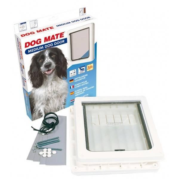 Dog Mate 215 Medium Hundeklappe