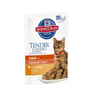 Hill's Optimal Care Pouch Adult Huhn Katzenfutter