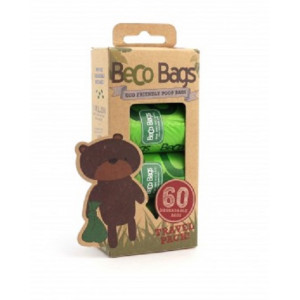 Beco Bags Kotbeutel für Hunde - 60 stk