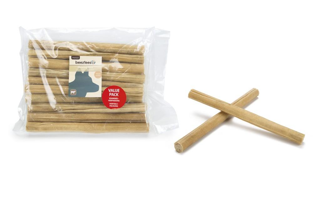 Büffelhautstangen Klein für den Hund (10 Stück)