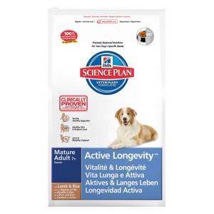 Hill's Mature Adult 7+ Active Longevity Lamm & Reis Hundefutter
