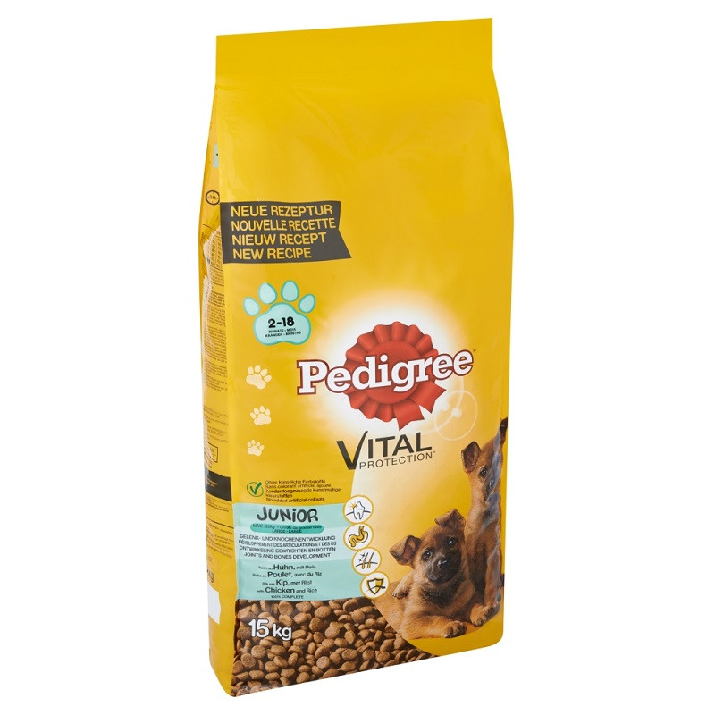 Pedigree Junior Maxi Hundefutter