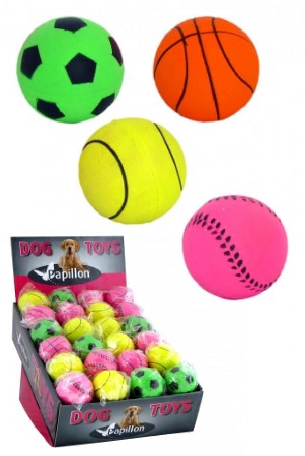 Schaumgummi-Ball in Neonfarben