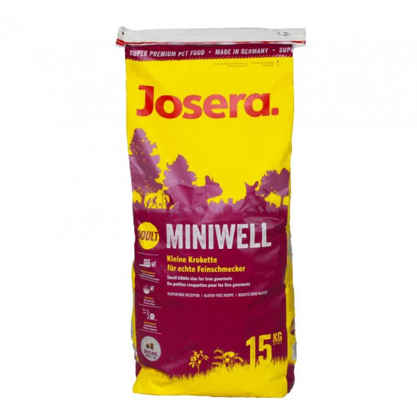 josera miniwell hundefutter