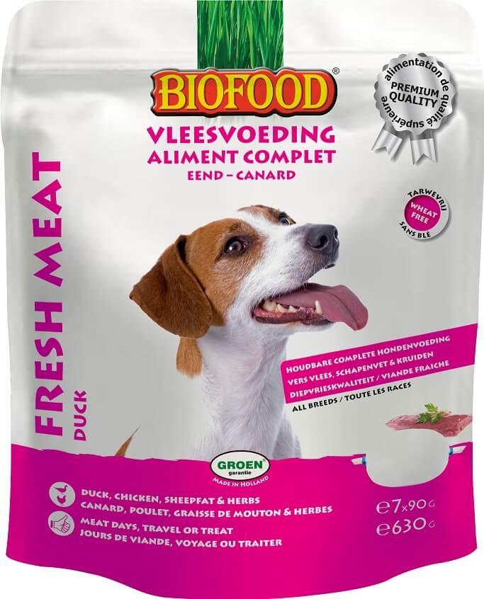 Biofood Hundefutter - Ente