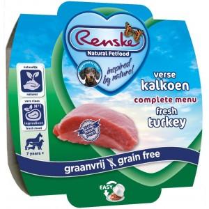 Renske Senior Getreidefreies Nassfutter Truthan 100 Gramm