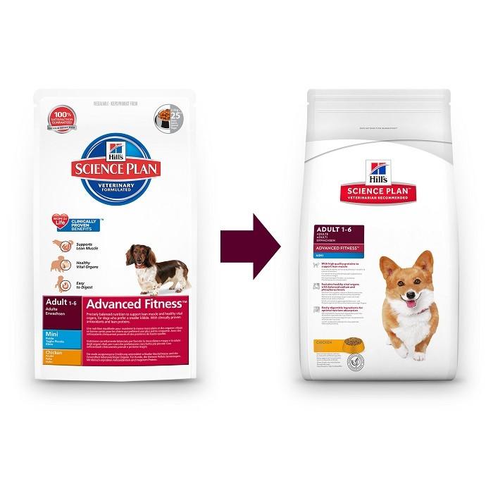 Hill's Adult Advanced Fitness Mini Huhn Hundefutter
