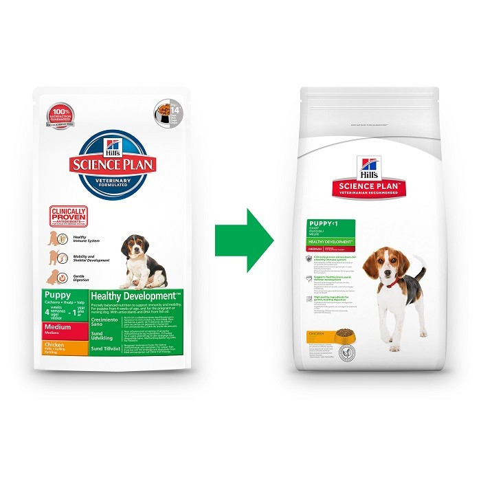 Hill's Puppy Healthy Development Medium Huhn Hundefutter