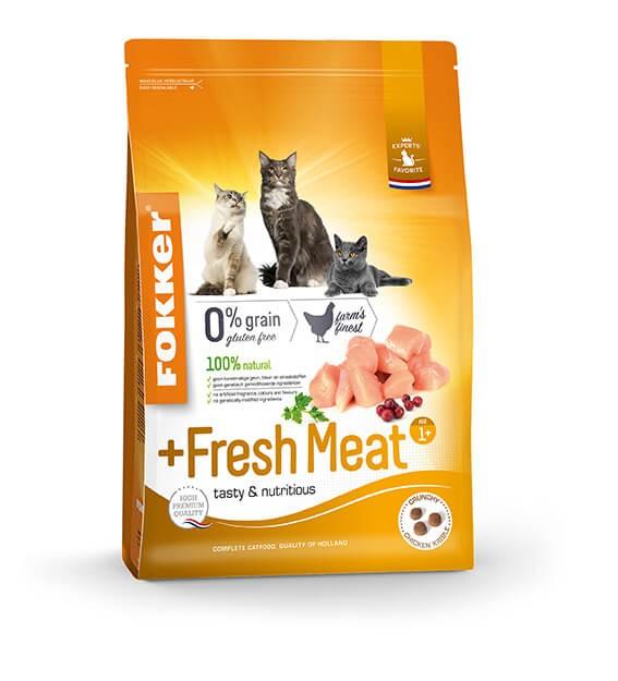 Fokker Adult + Fresh Meat Katzenfutter