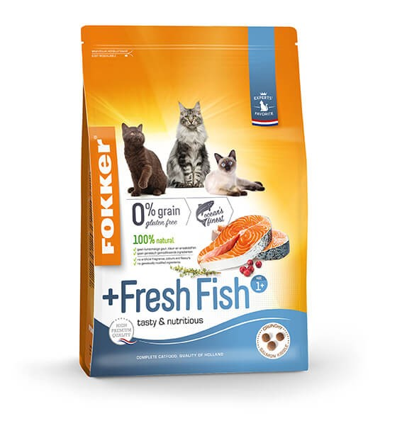 Fokker Adult + Fresh Fish Katzenfutter